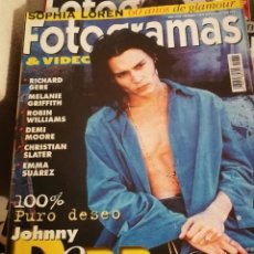 Cine: FOTOGRAMAS 1831.MAYO 1996. JOHNNY DEPP, EMMA SUAREZ, EMMA THOMPSON.... Lote 248284835