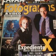 Cine: FOTOGRAMAS 1857. JULIO 1998. EXPEDIENTE X.... Lote 248285850
