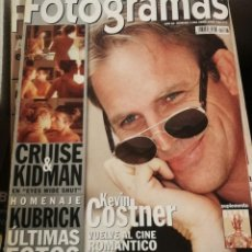 Cine: FOTOGRAMAS 1866. ABRIL 1999. KEVIN COSTNER, STANLEY KUBRICK, KIDMAN, CRUISE.... Lote 248287745