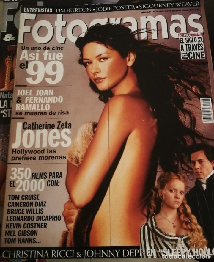 FOTOGRAMAS 1875. ENERO 2000. CATHERINE ZETA JONES, SLEEPY HOLLOW... (Cine - Revistas - Fotogramas)