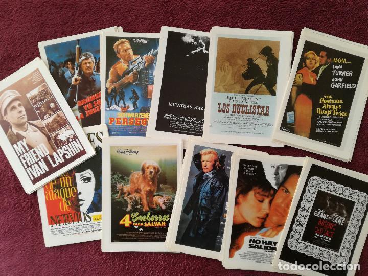 LOTE 100 REPRODUCCIONES CARTELES 15 X 11 ALIEN BLADE RUNNER MUJERES AL BORDE MATAR AL NANI EL LUTE (Cine - Reproducciones de carteles, folletos...)