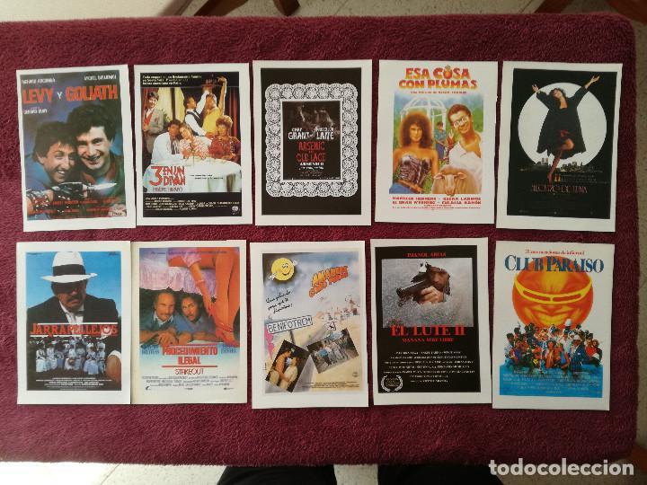 Cine: LOTE 100 REPRODUCCIONES CARTELES 15 X 11 ALIEN BLADE RUNNER MUJERES AL BORDE MATAR AL NANI EL LUTE - Foto 5 - 248456140