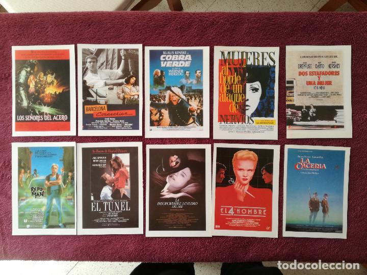 Cine: LOTE 100 REPRODUCCIONES CARTELES 15 X 11 ALIEN BLADE RUNNER MUJERES AL BORDE MATAR AL NANI EL LUTE - Foto 16 - 248456140