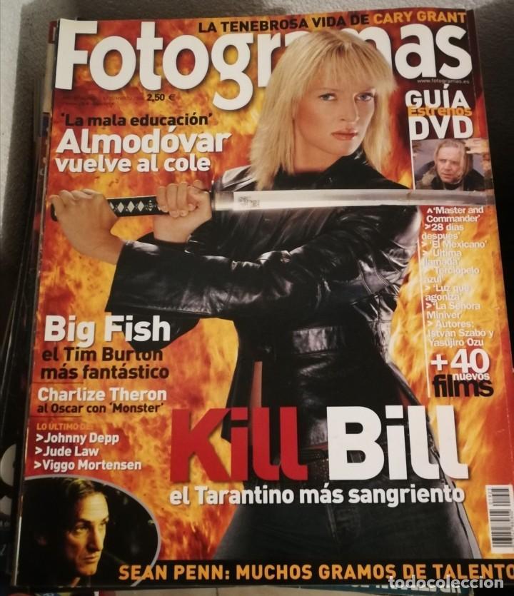 FOTOGRAMAS 1925. MARZO 2004. KILL BILL, ALMODOVAR, BIG FISH... (Cine - Revistas - Fotogramas)