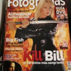 Cine: FOTOGRAMAS 1925. MARZO 2004. KILL BILL, ALMODOVAR, BIG FISH.... Lote 248456230