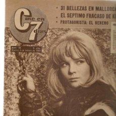 Cinema: CINE EN 7 DIAS. Nº 96. KIM NOVAK / EVA/63: LAURA VALENZUELA / TWIST-CHARLESTON EN MADRID.9/2/1963(*). Lote 248487345