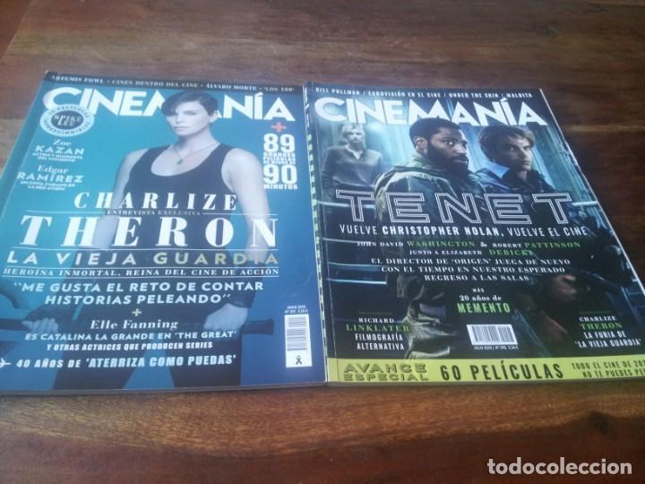 Cine: lote 4 revistas cinemania año 2020 - numeros 297/298/300/302 - Foto 2 - 248603280