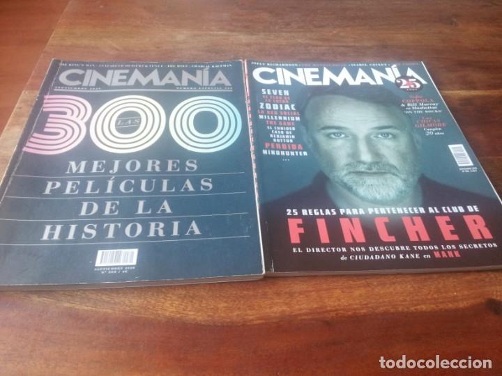 LOTE 4 REVISTAS CINEMANIA AÑO 2020 - NUMEROS 297/298/300/302 (Cine - Revistas - Cinemanía)