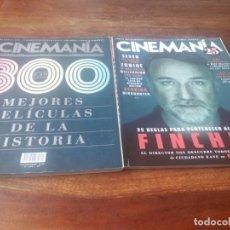 Cine: LOTE 4 REVISTAS CINEMANIA AÑO 2020 - NUMEROS 297/298/300/302. Lote 248603280