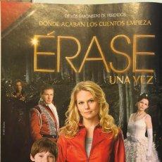 Cine: SERIE DE TV 'ÉRASE UNA VEZ' CON GINNIFER GOODWIN. PUBLICIDAD EN REVISTA. ENMARCABLE. NUEVO. Lote 248785115