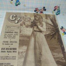 Cine: CINE EN 7 DÍAS Nº202 FEMINIDAD 1965 UN TORNEO ENTRE LAS BELLAS DEL CINE MUNDIAL. Lote 249289390