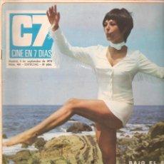 Cine: CINE EN 7 DIAS. Nº 491. DIANA LORYS / SUSANA MARTINKOWE / KIRK DOUGLAS / ROCIO Y JUNIOR. 1970(*). Lote 249331850