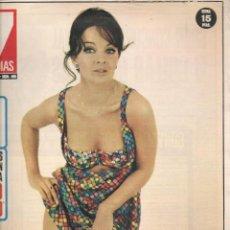 Cine: CINE EN 7 DIAS. Nº 498. LISA GASTONI / DIANA BERFORD / LA FAMILIA PONTI / ANA BELÉN. 24/X/1970. (*). Lote 249333760