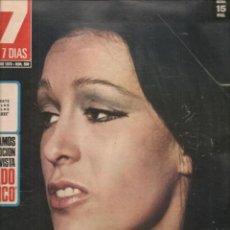Cine: CINE EN 7 DIAS. Nº 500. MASSIEL / FRANK SINATRA / ACTRICES RUMANAS / YOALNDA MARINELLI.7/XI/1970 (*). Lote 249361240