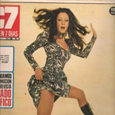 Cine: CINE EN 7 DIAS. Nº 506. 75 AÑOS DE CINE / LA CONTRAHECHA / PUBLICIDAD JULIO IGLESIAS. 19/XII/1970(*). Lote 249363310