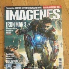 Cine: REVISTA CINE IMAGENES # 334 IRON MAN 3 ROBERT DOWNEY, JR. ON COVER. Lote 249459440