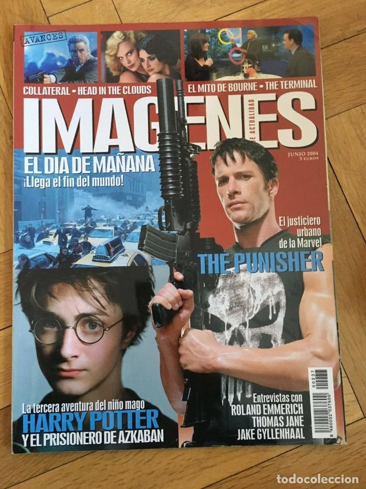Cine: REVISTA CINE IMAGENES JUNIO 2004 The Punisher Harry Potter Head in the Clouds - Foto 1 - 249482090