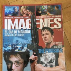 Cine: REVISTA CINE IMAGENES JUNIO 2004 THE PUNISHER HARRY POTTER HEAD IN THE CLOUDS. Lote 249482090