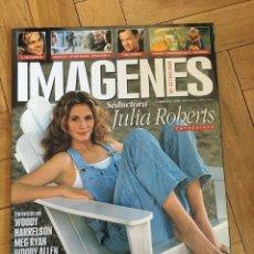 Cine: REVISTA CINE IMAGENES FEBRERO 1999 JULIA ROBERTS HARRELSON MEG RYAN WOODY ALLEN DI CAPRIO. Lote 249482660