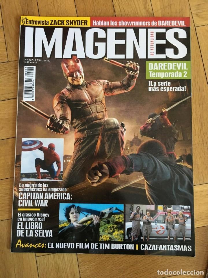 REVISTA CINE IMAGENES # 367 DAREDEVIL CAPTAIN AMERICA GHOSTBUSTERS JUNGLE BOOK (Cine - Revistas - Imágenes de la actualidad)