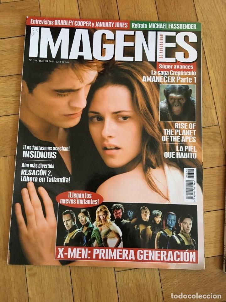 REVISTA CINE IMAGENES # 314 RISE OF THE PLANET OF THE APES X-MEN THE TWILIGHT SAGA (Cine - Revistas - Imágenes de la actualidad)