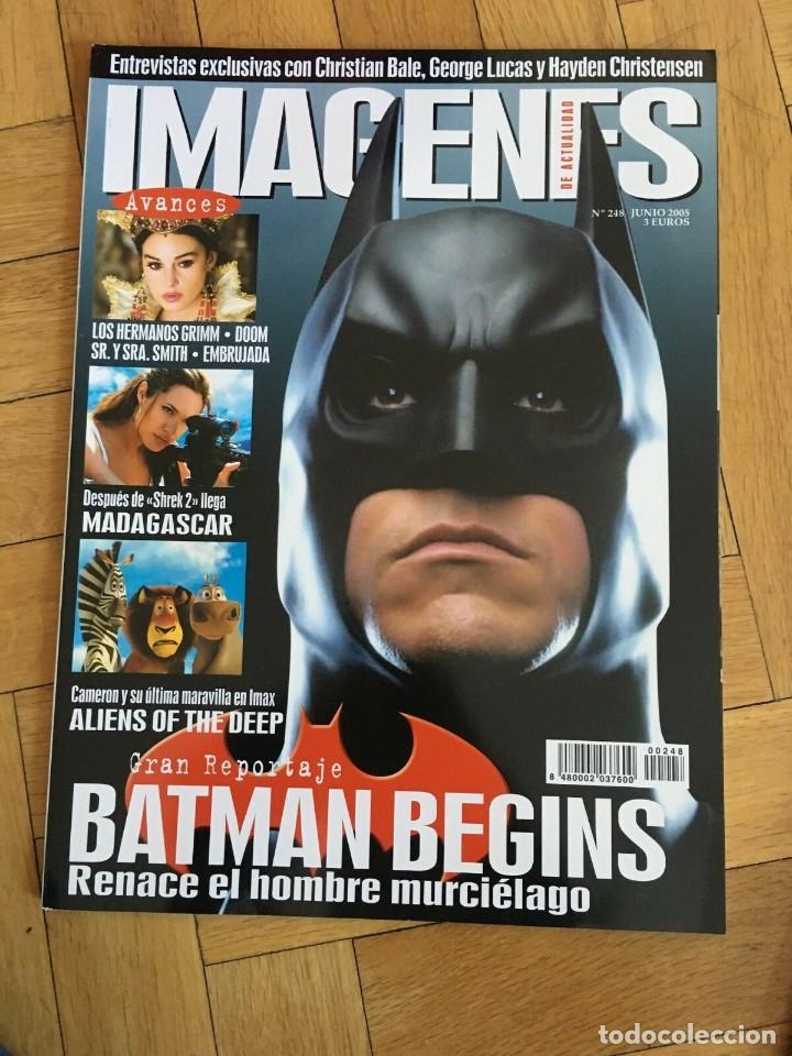 REVISTA CINE IMAGENES # 248 BATMAN BEGINS MADAGASCAR ALIENS OF THE DEEP SR. SMITH (Cine - Revistas - Imágenes de la actualidad)