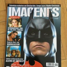 Cine: REVISTA CINE IMAGENES # 248 BATMAN BEGINS MADAGASCAR ALIENS OF THE DEEP SR. SMITH. Lote 249483225