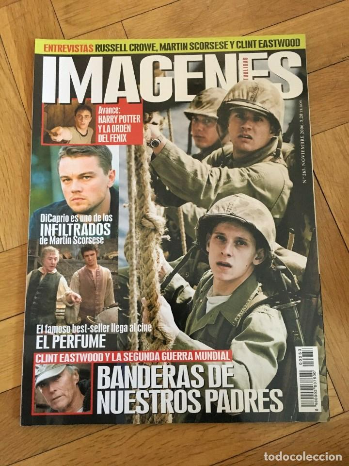 Cine: REVISTA CINE IMAGENES # 263 Harry Potter Dicaprio Clint Eastwood Flags of Our Fathers - Foto 1 - 249483305