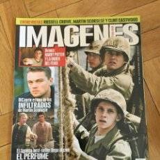 Cine: REVISTA CINE IMAGENES # 263 HARRY POTTER DICAPRIO CLINT EASTWOOD FLAGS OF OUR FATHERS. Lote 249483305