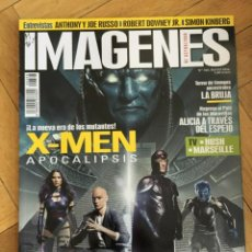 Cine: REVISTA CINE IMAGENES # 368 X-MEN ROGUE ONE ANTHONY JOE RUSSO SIMON KINBERG. Lote 249483430