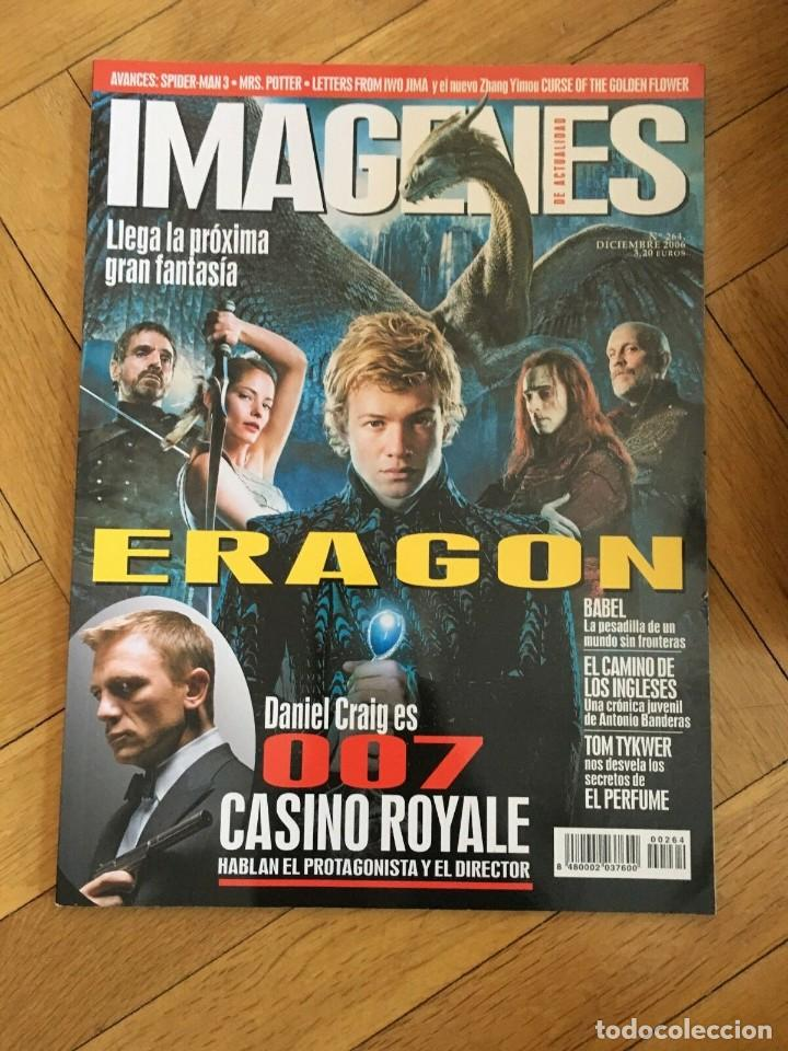 REVISTA CINE IMAGENES # 264 ERAGON DANIEL CRAIG 007 JAMES BOND (Cine - Revistas - Imágenes de la actualidad)