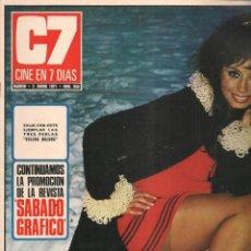 Cine: CINE EN 7 DIAS. Nº 508. MARY PAZ PONDAL / ALI MCGRAW RYAN O´NEAL / CONNIE KERSKI / EMMA COEN.1971(*). Lote 249496145