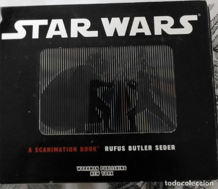 Cine: STAR WARS 11 ICONIC SCENES FRON A SCANIMATION HOLOGRAMAS ANIMADOS BOOK RUFUS BUTLER SEDER IMAGENES A - Foto 2 - 249586265