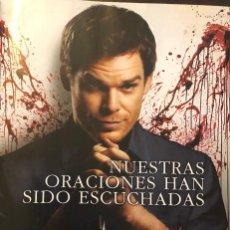 Cine: SERIE DE TV 'DEXTER', CON MICHAEL C. HALL. PUBLICIDAD EN REVISTA. ENMARCABLE. NUEVO.. Lote 250170220