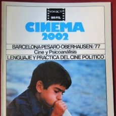 Cine: CINEMA 2002 NÚMERO 34. Lote 250231410