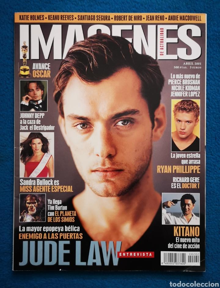 IMAGENES DE ACTUALIDAD - N. 500 - ABRIL 2001 (Cine - Revistas - Imágenes de la actualidad)