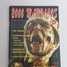 Cine: FANZINE 2000 MANIACOS N°14. Lote 251283070