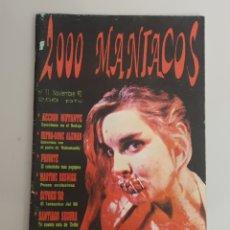 Cine: FANZINE 2000 MANIACOS N°11. Lote 251283155