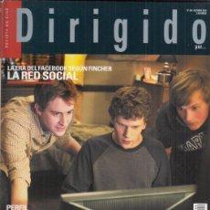 Cinema: REVISTA DIRIGIDO POR Nº 404 AÑO 2010. LA RED SOCIAL. DOSSIER: CINE FANTASTICO. (2). VENECIA.. Lote 251406310