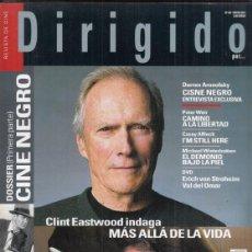 Cinema: REVISTA DIRIGIDO POR Nº 407 AÑO 2011. CLINT EASTWOOD DOSSIER: CINE NGRO (I). CISNE NEGRO.. Lote 251407520
