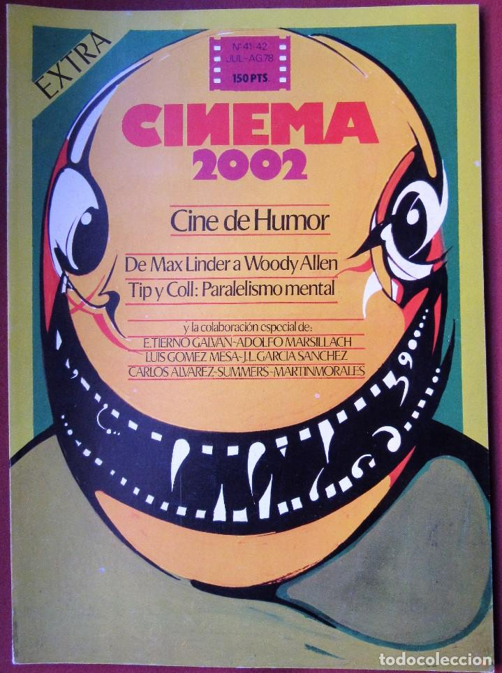 CINEMA 2002 NÚMERO 41-42 - EXTRA (Cine - Revistas - Cinema)