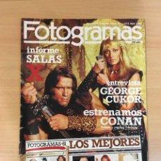 Cinema: REVISTA DE CINE FOTOGRAMAS Nº 1673 (ABRIL 1982) - ENCICLOPEDIA DEL MUSICAL. Lote 252739135