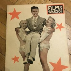 Cine: REVISTA FILMS SELECTOS JOAN CRAWFORD DICK POWELL PEGGY FEARS CAROLE LOMBARD 1935. Lote 252772940
