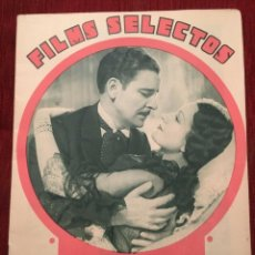 Cine: REVISTA FILM SELECTOS 1934 JOAN CRAWFORD JULIETTE COMPTON CATALINA BARCENA VIVIENNE OSBORNE. Lote 252776370