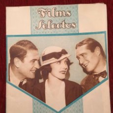 Cine: REVISTA FILM SELECTOS 1934 SHIRLEY TEMPLE ADRIENNE AMES EDMUND LOWE CARMEN BONI ANNA STEN. Lote 252776670