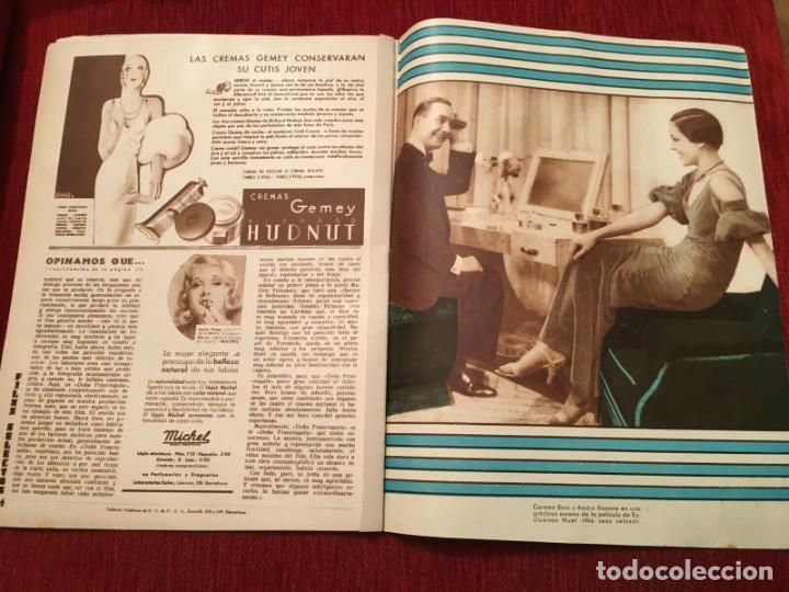 Cine: REVISTA FILM SELECTOS 1934 Shirley Temple Adrienne Ames Edmund Lowe Carmen Boni Anna Sten - Foto 3 - 252776670