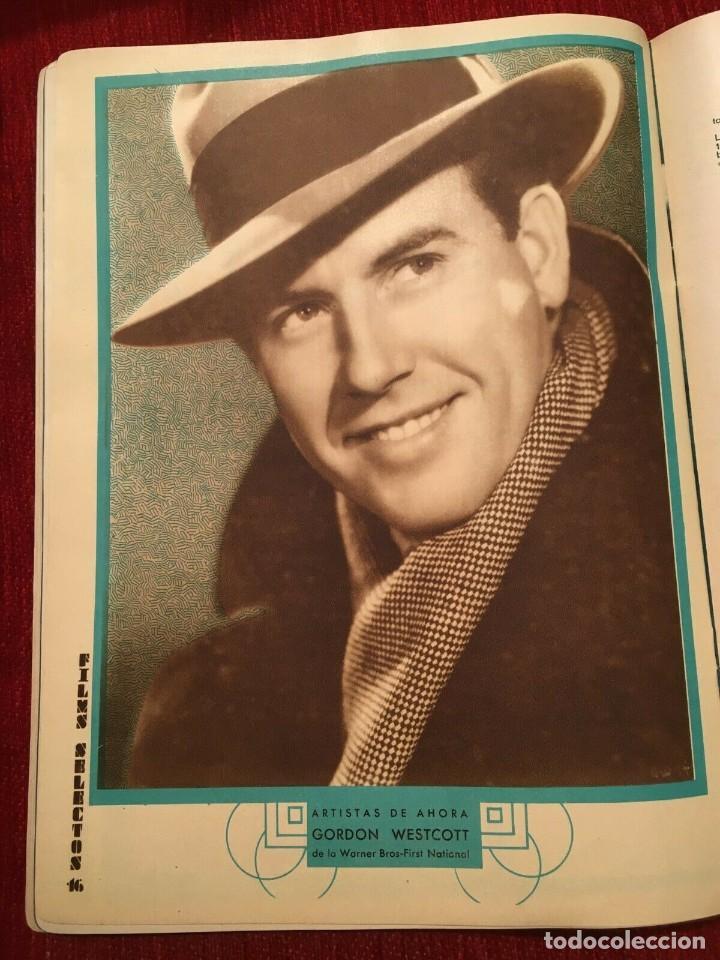 Cine: REVISTA FILM SELECTOS 1934 Joan Crawford Pat Paterson Gordon Westcott Wanda Perry - Foto 3 - 252776790