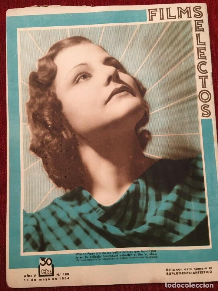 Cine: REVISTA FILM SELECTOS 1934 Joan Crawford Pat Paterson Gordon Westcott Wanda Perry - Foto 5 - 252776790