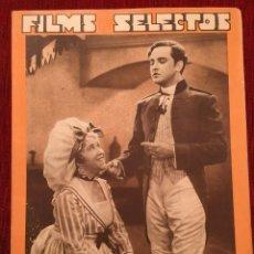 Cine: REVISTA FILM SELECTOS 1934 SHIRLEY TEMPLE DOROTHY DELL KÄTHE VON NAGY ERNESTINA ANDERSON. Lote 252777165