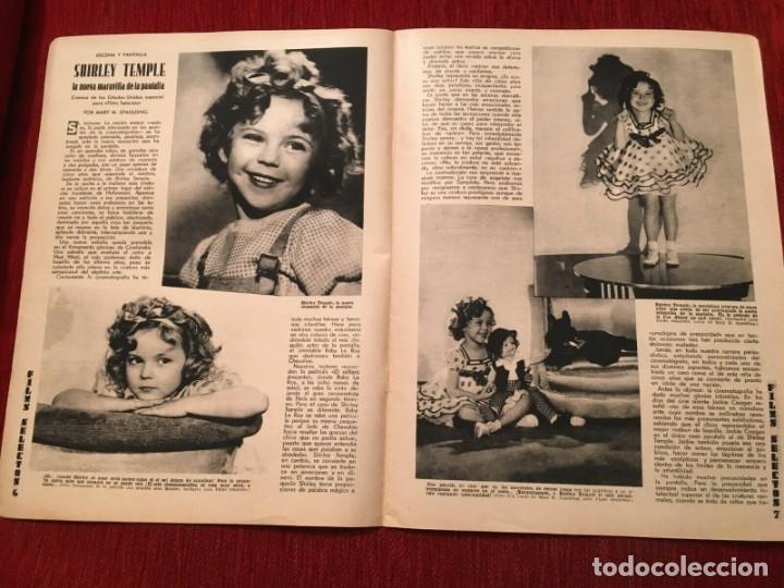 Cine: REVISTA FILM SELECTOS 1934 Shirley Temple Dorothy Dell Käthe von Nagy Ernestina Anderson - Foto 2 - 252777165